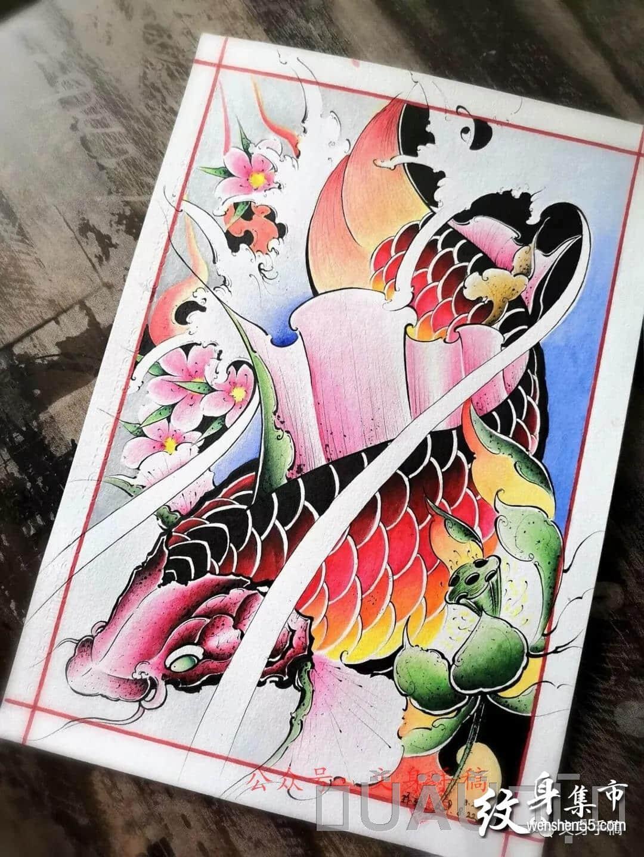 """020新传统纹身,2020新传统纹身手稿,2020新传统纹身手稿图案"""""""