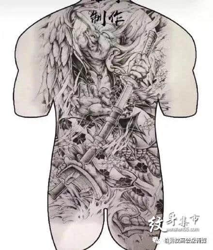 """020最火满背纹身,2020最火满背纹身手稿,2020最火满背纹身手稿图案"""""""
