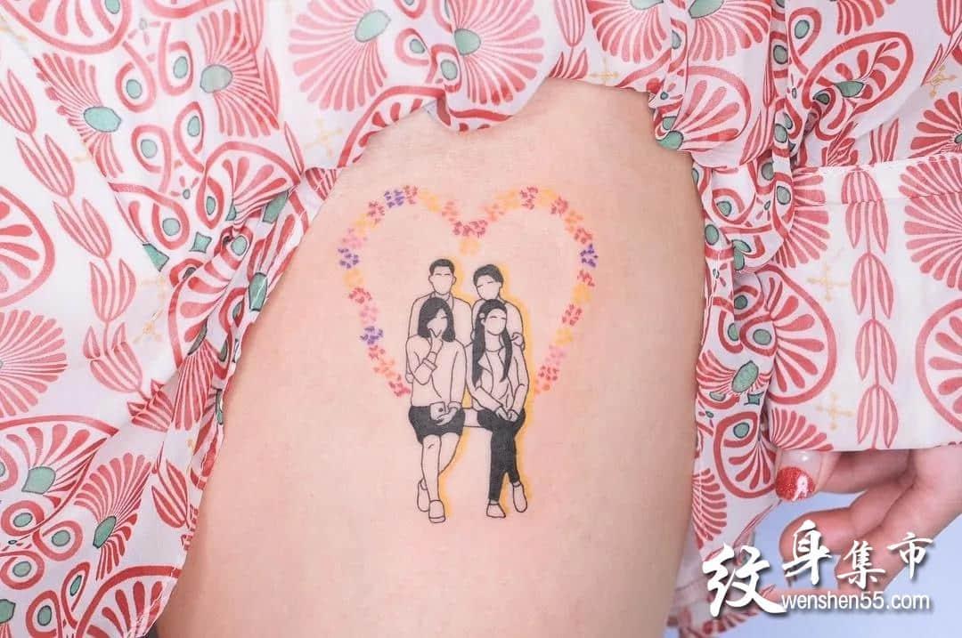 小清新纹身特辑,小清新纹身手稿,小清新纹身手稿图案
