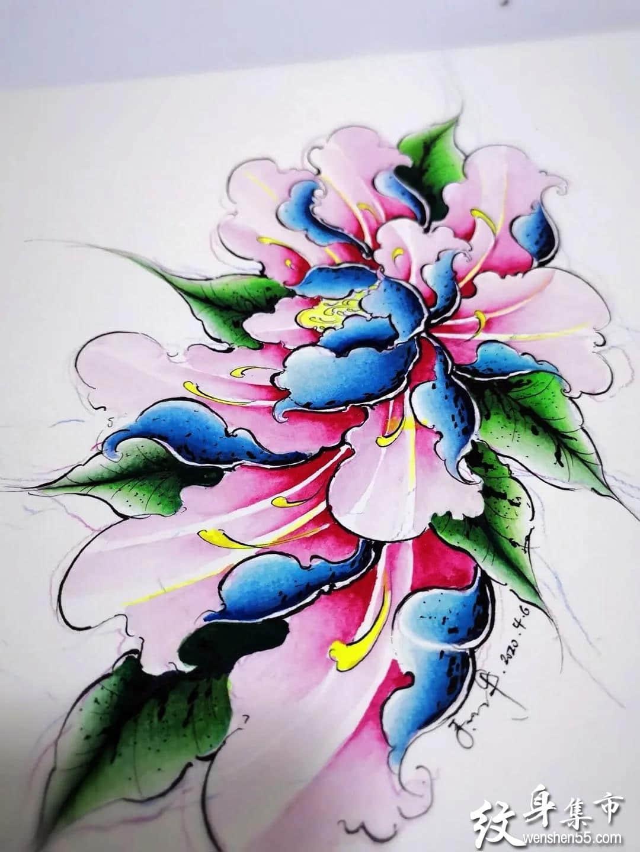 新传统纹身,新传统纹身手稿,新传统纹身手稿图案