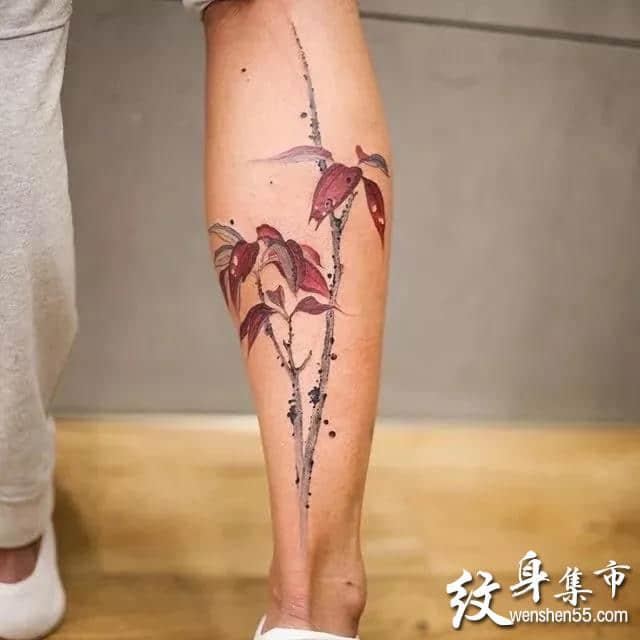 中国风纹身,中国风纹身手稿,中国风纹身手稿图案