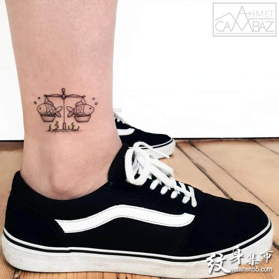 设计感满满的小清新纹身素材手稿图案