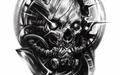 怪物纹身 ,怪物纹身手稿 ,怪物纹身手稿图案