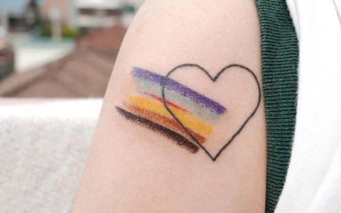 另类清新纹身,清新纹身手稿,清新纹身手稿图案